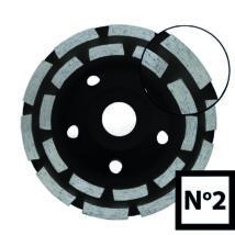 Gyémántszemcsés betoncsiszoló N°2