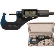 BGS-8427 Digitális Mikrométer 0-25mm 0,001mm