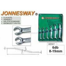 Jonnesway Profi Fékcsőkulcs Készlet 8-19mm / 6db-os