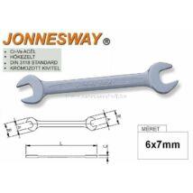 Jonnesway Profi Villáskulcs 06x07mm