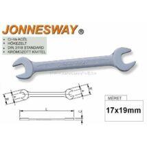 Jonnesway Profi Villáskulcs 17x19mm