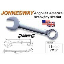 Jonnesway Profi Rövid Csillag-Villáskulcs 11mm