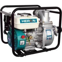 """Heron benzinm.vízszivattyú, 6,5 LE, max.1100l/min, max.28m emelőmag, 3""""csőátm (EPH-80)"""
