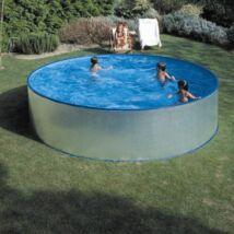 Merevfalú medence kerek 4,5m (kompletten)