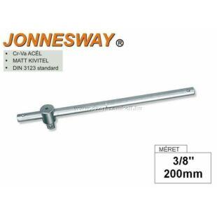 """Jonnesway T-hajtószár 3/8"""" 200mm"""