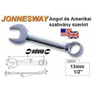 Jonnesway Profi Rövid Csillag-Villáskulcs 13mm