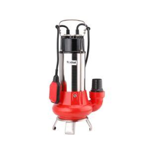 Extol szennyvíz szivattyú, úszókapcsolóval, 1100W, SP1100F, szállító teljesítmény: 20 m3/h, max. száll. 9 m