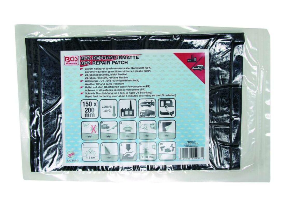 79dd40b3b0 BGS-80601 Üvegszálas műanyag javító lap 150 x 220 mm