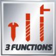 Einhell TE-CD 18 Li-i BL (2x2,0Ah) Akkus ütvefúró-csavarozó Power X-Change