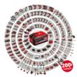 Einhell TE-CD 18/48 Li-i akkus ütvefúró-csavarozó, 2db 2.0Ah akkuval és töltővel