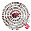 Einhell PXC CE-CB 18/254 Li-Solo akkus autó polírozó, 18V, 254mm (akku és töltő nélkül)
