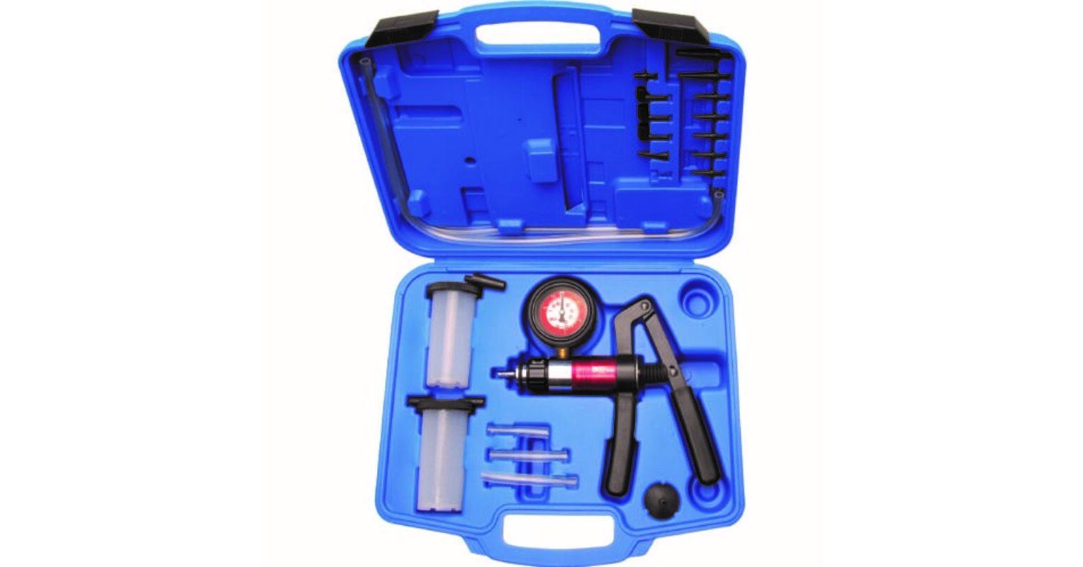 Vákuum és nyomásmérő kézi pumpa