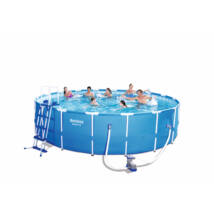 Fémvázas medence - ISTRIA - 549x122 cm