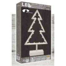 Beltéri elemes LED fenyő ablakdísz 20 Égő / 0.39 m – meleg fehér