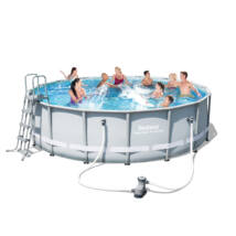 Luxory Superior fémvázas medence szett 488x122 cm
