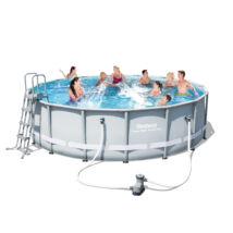 Fémvázas medence  - Luxory Superior - 488x122cm (kompletten)