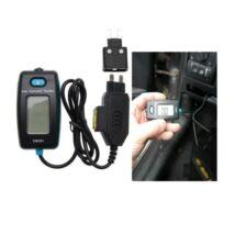BGS-63520 Digitális árammérő biztosíték csatlakozásra
