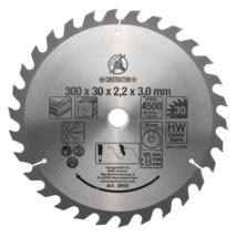 BGS-3955 Keményfém körfűrészlap (300x30x3,2mm) 30 fogú