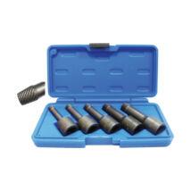 """BGS-5261 Speciális dugókulcs készlet 1/2"""", 5 db-os 8-16 mm sérült belsőnyílású csavarokhoz"""