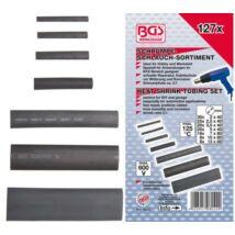 BGS-8042 Zsugorcső készlet, fekete 127 darabos