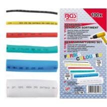 BGS-8123 Zsugorcső készlet, színes 100db