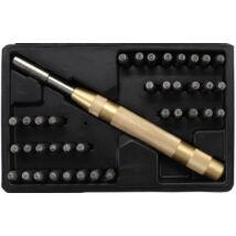 BGS-3043 Szám és betűbeütő készlet 170mm