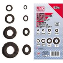 BGS-8112 180 db-os átvezető gumigyűrű készlet