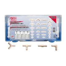 BGS-8790 Csatlakozó készlet gumi és műanyag csövekhez 100 részes