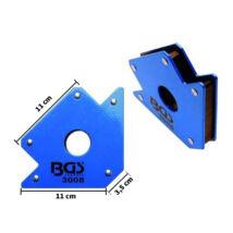 BGS beállító mágnes derékszög hegesztéshez 30kg-os