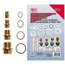 BGS-8119 Olajteknő csavar és aluminiumalátét készlet 534 részes