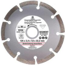 BGS-3932 Gyémánttárcsa szegmenses 125 mm
