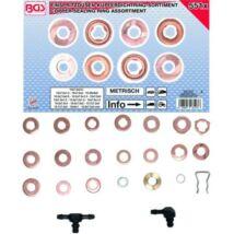 BGS-8107 Injektor réztömítés készlet 551 részes