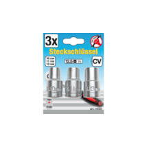 BGS-15123 Dugókulcs készlet 10-11-13 mm