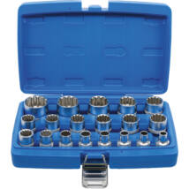 "BGS-2152 Gear Lock Dugókulcskészlet 12,5 mm (1/2"") 19 darabos"