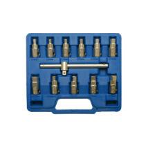 BGS-1017 Olajleeresztő kulcs készlet 12-részes