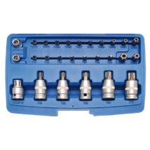 BGS-5101 Torx dugókulcs készlet 27 részes