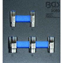 BGS-9089 Menetes könyök kulcs készlet 5 részes