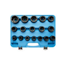 "BGS-5242 3/4"" Impact Socket Set, 19 - 55 mm"