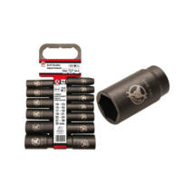 """BGS-95207 Levegős dugókulcs készlet 1/2"""" 10 - 32 mm, hosszított 13 részes"""