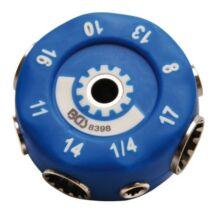 BGS-8398 Univerzális dugókulcs készlet, metrikus, coll, E-profil