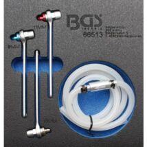 BGS-66513 Légtelenítő kulcs készlet hidraulikus kuplunghoz és fékhez 8-10-11 mm