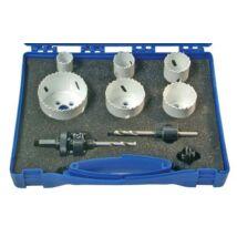 BGS-3906 Lyukfűrész készlet 22-65mm (8 részes)