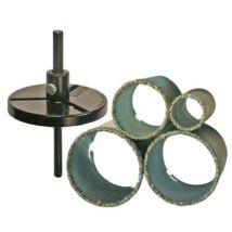 BGS-3910 Csempe körkivágó készlet 33-73mm (6 darabos)