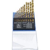 BGS-50813 Titán bevonatos HSS fúrókészlet 1,5-6,5mm 13 részes