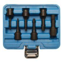 """BGS-5281 Törtcsavar kiszedő készlet 6-részes 2-10 mm, 3/8"""" légkulcshoz is"""