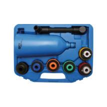 BGS-8505-1 Olajtölcsér adapterekkel
