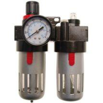 BGS-8603 Nyomásszabályzó reduktorl vízleválasztóval és olajzóval