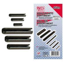 BGS-8054 Lyukas biztosító szeg készlet /Hasított hüvely/ 450-részes