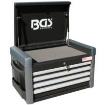 BGS-4112 Szerszámos láda üresen 4 fiókos