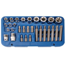 BGS-5025 Csavarfej és dugókulcs készlet 30-részes CV.